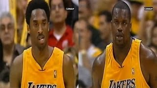 Kobe Bryant & Shaquille O'Neal Full Highlights vs Spurs 2001 WCF GM4