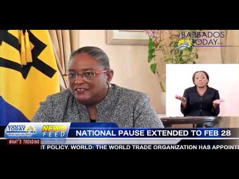 BARBADOS TODAY EVENING UPDATE - February 15, 2021