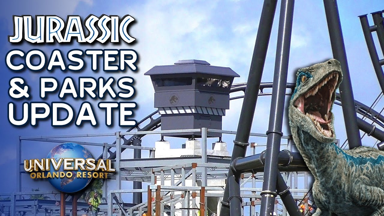 Jurassic Coaster Rumors and Construction + Bourne & Safety Measures - Universal Orlando Update