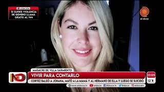 Masacre de Villa Sarmiento: habló Yohana, la única sobreviviente