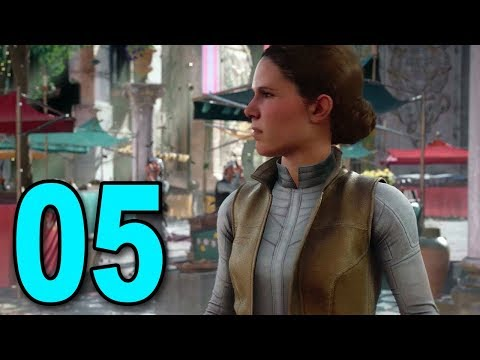 Star Wars Battlefront 2 Story - Part 5 - Princess Leia 🍑👀