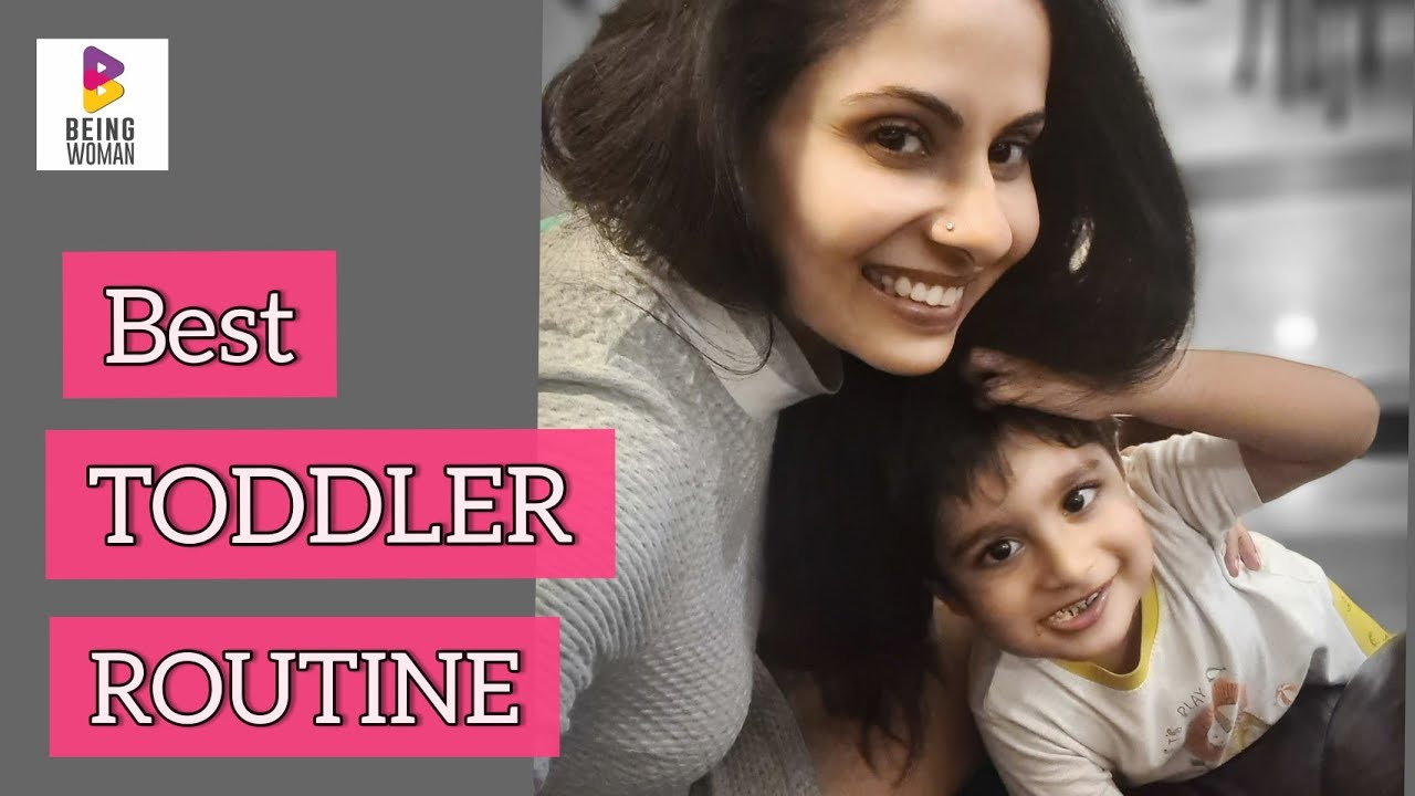 Morning Routine with a baby   2 yr old   Toddler   Being Woman With Chhavi