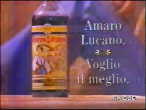 AMARO LUCANO Pubblicità Raidue 12 Dicembre 1997