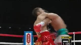 オスカル・ラリオス vs 粟生隆寛 第1戦(WBC世界フェザー級タイトルマッチ)1/2