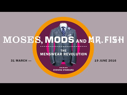 Moses, Mods And Mr Fish: The Menswear Revolution Exhibition At The Jewish Museum London