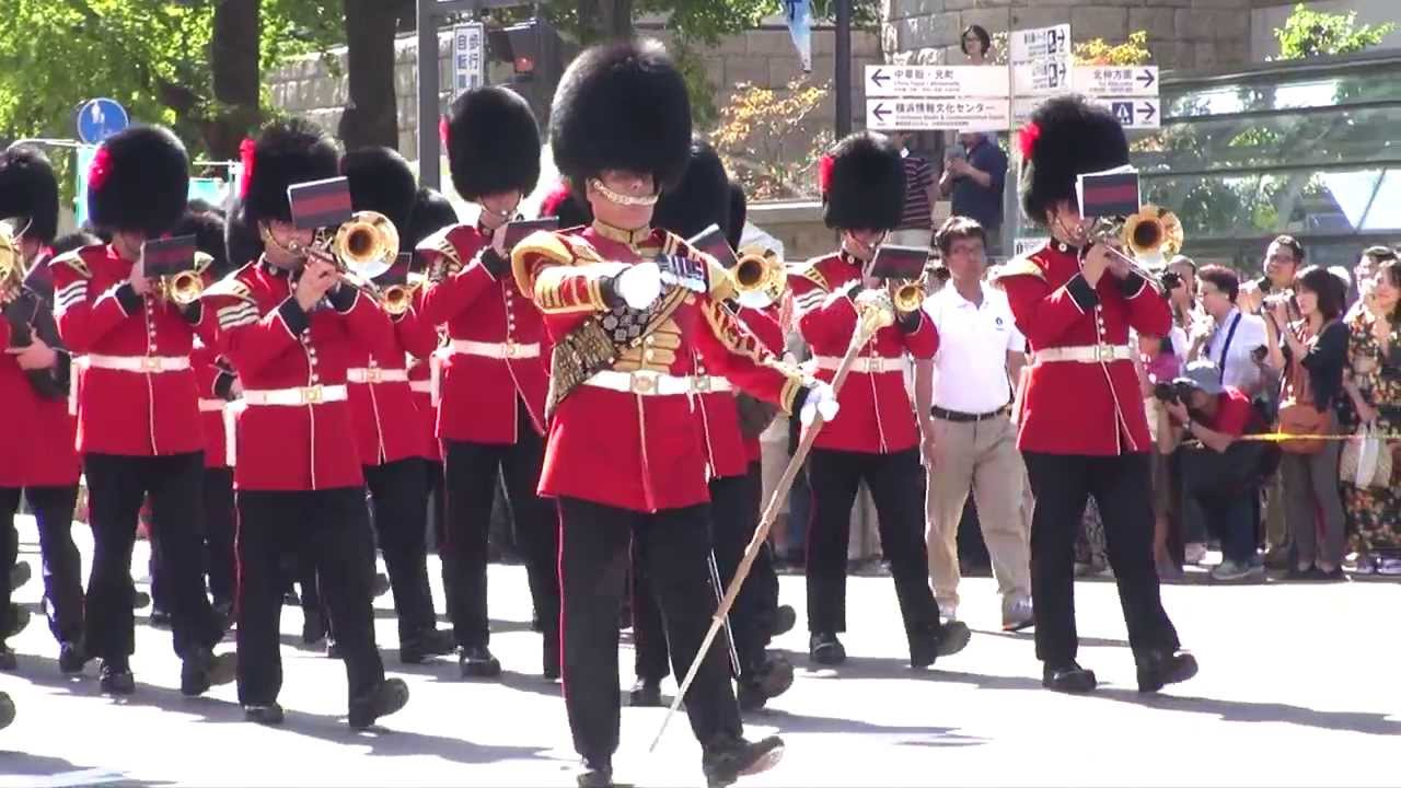 The Queen's Guard Marching ban...