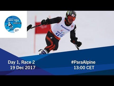 2017 World Para Alpine Skiing World Cup | Kuhtai | Day1 Race 2