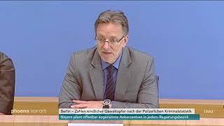 Holger Münch zu den aktuellen Zahlen kindlicher Gewaltopfer am 05.06.2018