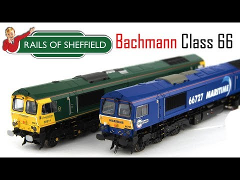 Unboxing The New Rails Of Sheffield Exclusive Class 66