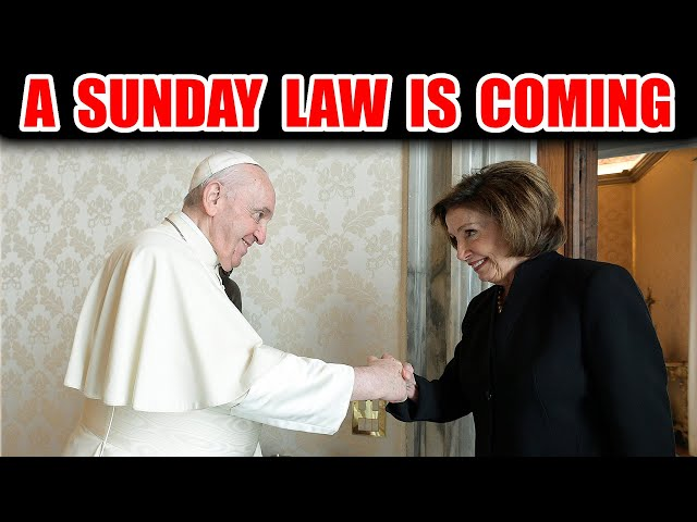 Pope Meets Nancy Pelosi To Discuss Climate Legislation. A Sunday Law Is Near. Executive Judgment