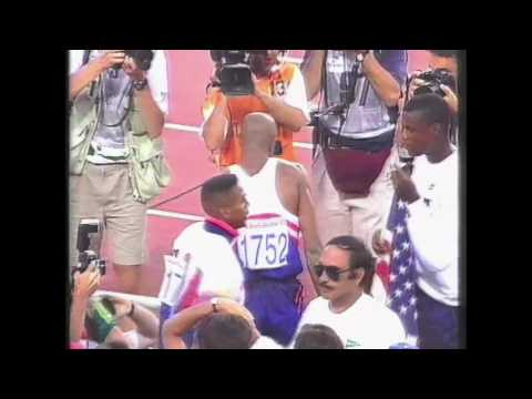 4012 Olympic Track & Field 1992 Long Jump Men Mike Powell