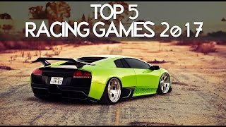top 5 upcoming racing games 2017 2018   ps4 pc and xbox one   60 fps full hd