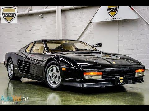 1986 Ferrari Testarossa #64259   MVL leasing.com - Toronto Exotics