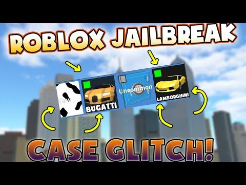 Roblox Jailbreak CASE GLITCH GET WHATEVER YOU WANT FROM A SAFE