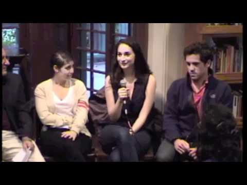 2011 Interns talk about RealArts@Penn with Anthony DeCurtis