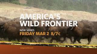 Nat Geo WILD America The Beautiful Wild Frontier - Into the Badlands Promo