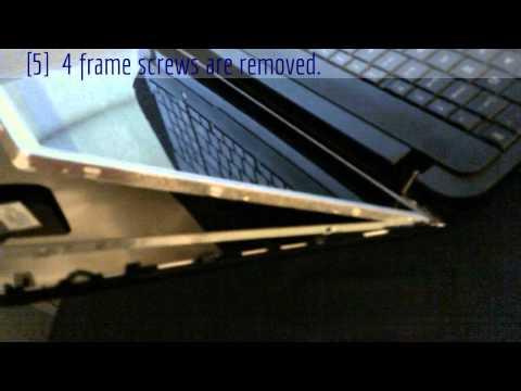 Laptop Repair Manual Screen Replace Toshiba Satellite C855D-S5303