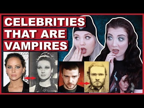 PROOF Of Celebrities That Are Vampires | Conspiracy Theories