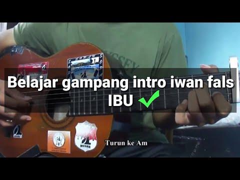 Belajar Kunci gitar | Iwan Fals IBU - untuk pemula