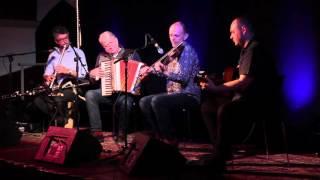Duncan Chisholm, Jarlath Henderson, Matheu Watson and Phil Cunningham at The Duncairn