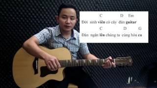#20 Hướng dẫn đệm hát guitar  Cây đàn sinh viên    Thực hành điệu balad