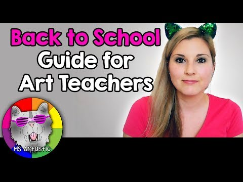 How To Prepare for Back to School Guide for Art Teachers