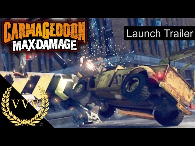 Carmageddon Max Damage Launch Trailer