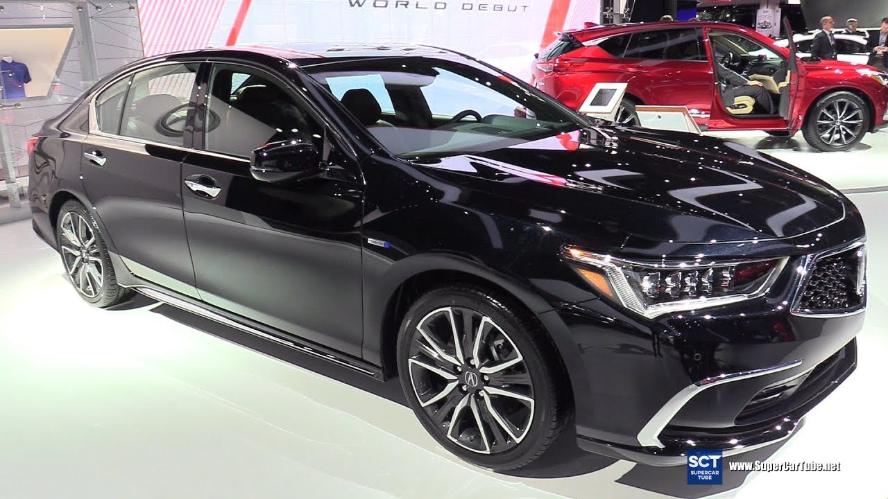 2018 Acura Rlx Exterior And Interior Walkaround Detroit Auto Show
