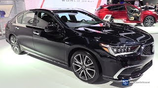 2018 Acura RLX - Exterior and Interior Walkaround - 2018 Detroit Auto Show