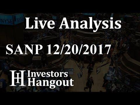 SANP Stock Live Analysis 12-20-2017