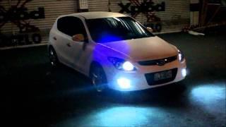 Hyundai i30 Branco envelopado
