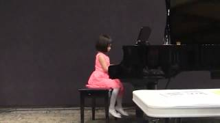 "Piano ""First Sonatina"" 5-year-old Jena Park - Lethbridge, Alberta"