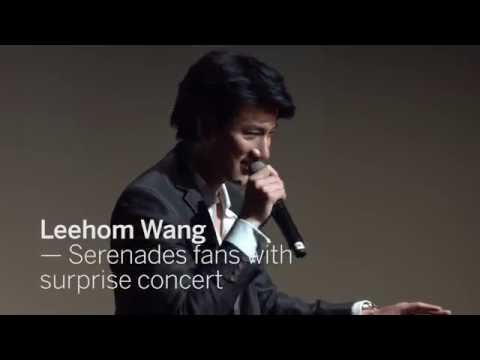LEEHOM WANG Serenades fans with surprise concert | TIFF 2016