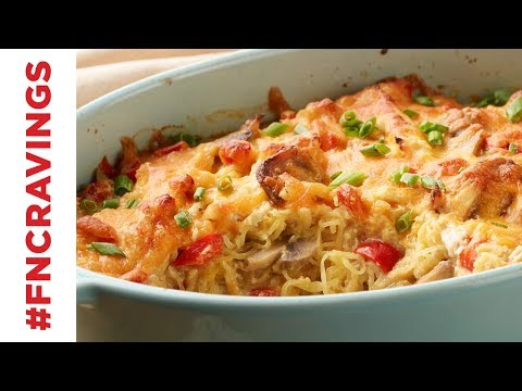 Chicken Spaghetti Squash   Food Network