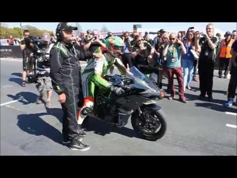 Kawasaki Ninja H2R Isle Of Man TT James Hillier [Full Video]