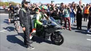 Kawasaki Ninja H2R Isle Of Man TT James Hillier [Full Video]