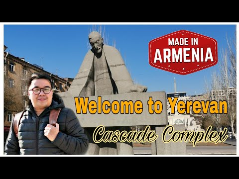 #SONNIETV : #EXPLORING YEREVAN ARMENIA | CASCADE COMPLEX ԵՐԵՎԱՆ ՀԱՅԱՍՏԱՆ