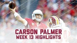 Carson Palmer's 300-Yard & 3 TD Day! | Redskins vs. Cardinas | NFL Week 13 Player Highlights