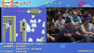 Summer Games Done Quick 2014 - Part 25 - Crusader Of Centy