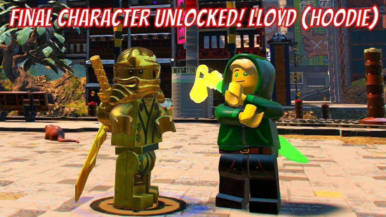 The LEGO Ninjago Movie Video Game - Lloyd (Hoodie) Unlock ...