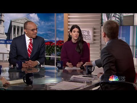 Full Panel: White House finds an acting Chief of Staff | Meet The Press | NBC News
