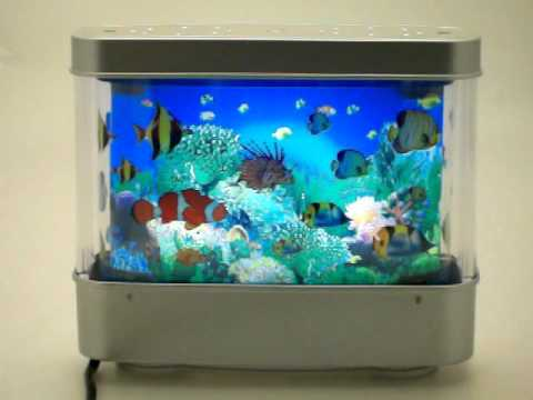 fish electric moving aquarium youtube