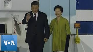 China's Xi Jinping Arrives in Brazil for BRICS Summit