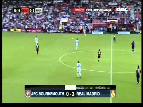 Afc Bournemouth v Real Madrid 21-7-2013 FULL MATCH