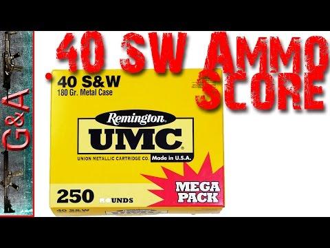 Walmart.40 Mega Ammo Score