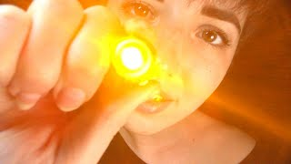 ASMR Follow the Light Up-Close Lofi Examination (w/ inaudible whispers)