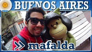 O que fazer em Buenos Aires: visite a Mafalda (com preços)
