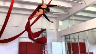 ArtArea Project: Урок по воздушной гимнастике на полотнах Крутка Man
