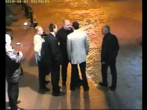 Chechen Mafia Boss Battle Cashin $ in Club House Parking
