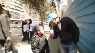 طفل مصري مصر دي بنت وسخه